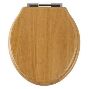 Epsom Bathrooms Roper Rhodes Greenwich Natural Oak Solid Wood Toilet Seat