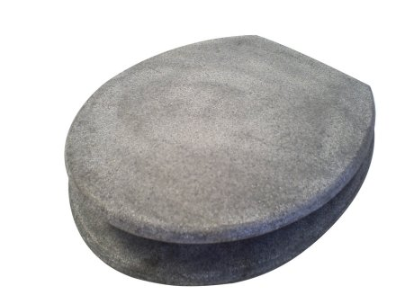 Grey Granite Toilet Seat