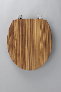 solid wood soft close toilet seat. Origins Zebrano Seat Origin